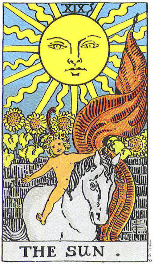 ライダータロット太陽